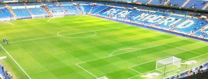 Santiago Bernabéu Stadium is one of Stadiums.