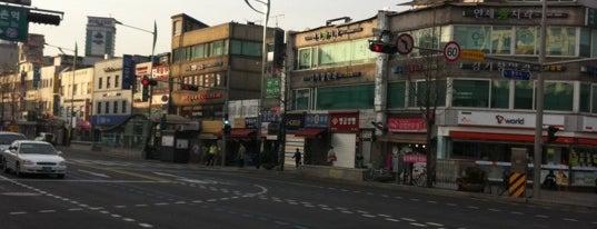 불광역 (Bulgwang Stn.) is one of Subway Stations in Seoul(line1~4 & DX).