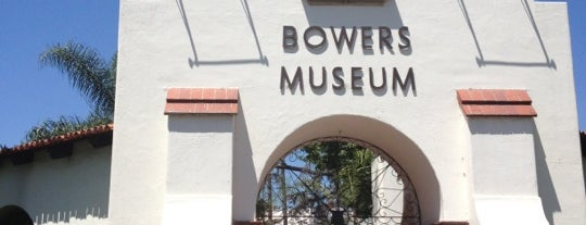Bowers Museum is one of OC Heritage Museums.