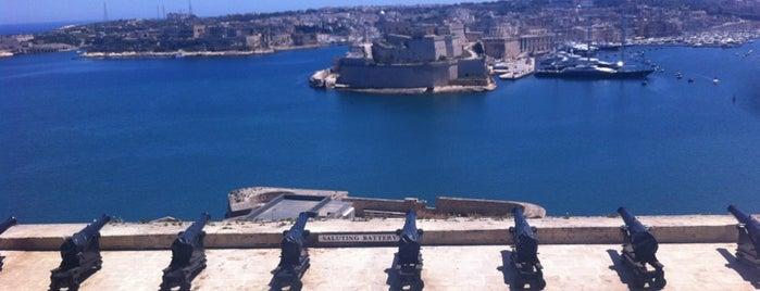 Upper Barrakka Gardens | Il-Barrakka ta' Fuq is one of Malta Cultural Spots.