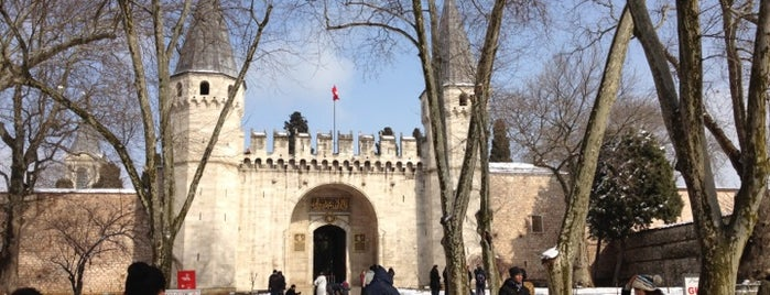 Topkapı Palace is one of Istanbul.