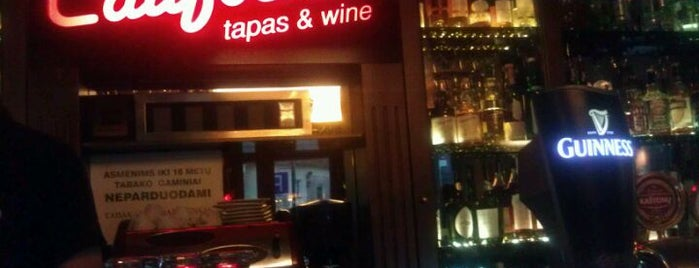 California Tapas & Wine is one of Guide to Vilnius's best spots.