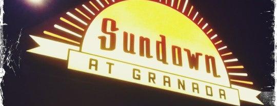 Sundown at Granada is one of Fave DFdub Grub.