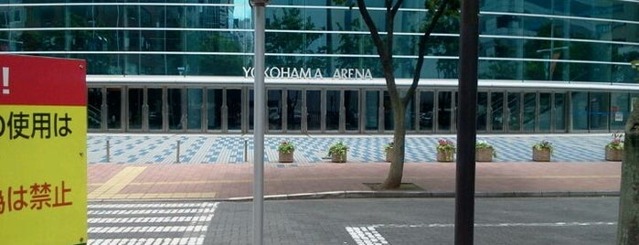 Yokohama Arena is one of 新横浜マップ.