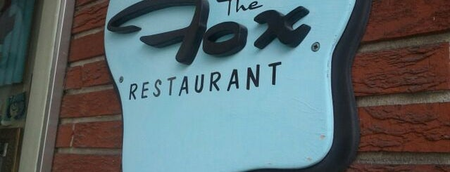 "The Fox Restaurant is one of ""Diners, Drive-Ins & Dives"" (Part 1, AL - KS)."