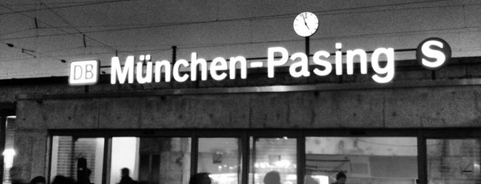 München-Pasing station is one of München S-Bahnlinie 4.