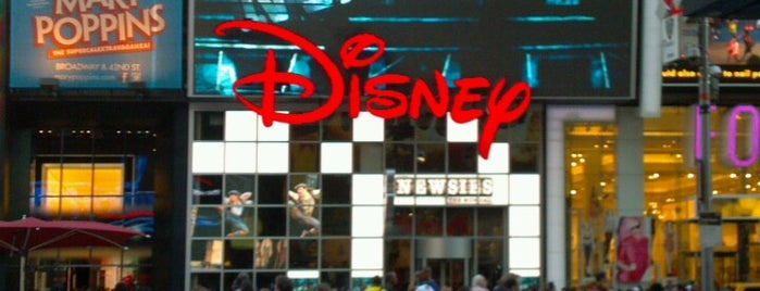 Disney Store is one of New York 2012.