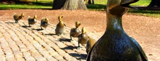 Make Way For Ducklings is one of IWalked Boston's Public Art (Self-guided Tour).