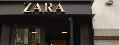 Zara is one of NYC.