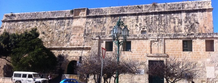 St. James' Cavalier is one of Malta Cultural Spots.