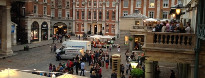 Covent Garden is one of London, August 2012.
