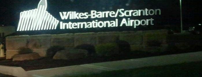 Wilkes-Barre/Scranton International Airport (AVP) is one of Airports visited.