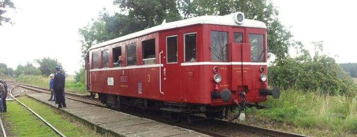 Železniční stanice Trpísty is one of Železniční stanice ČR: Š-U (12/14).