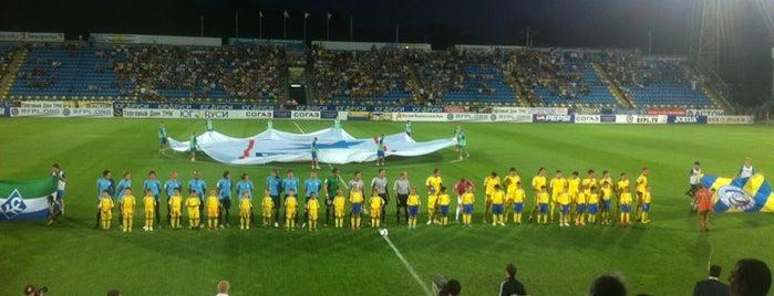 Олимп 2 is one of Stadiums.