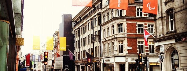 New Bond Street is one of London's Mayfair.