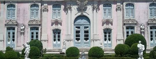 Palácio Nacional de Queluz is one of TOP 10: Favourite places of Lisbon coast.