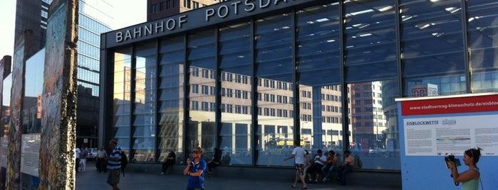 Bahnhof Berlin Potsdamer Platz is one of Besuchte Berliner Bahnhöfe.