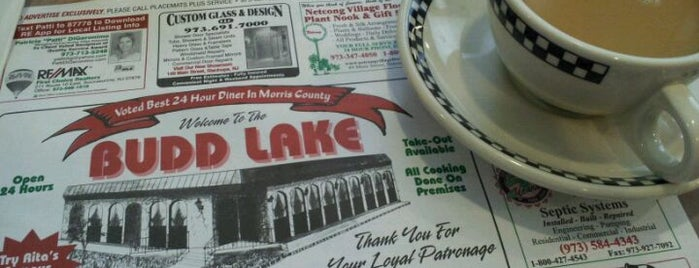 Budd Lake Diner is one of The Best New Jersey Diners.