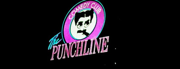 The Punchline Comedy Club is one of Atlanta City Badge - ATL.
