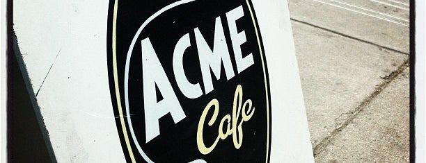 Acme Cafe is one of Vancouver Restaurants 1.