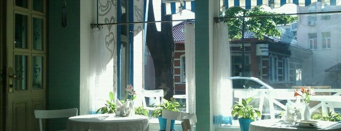 Олів'є / Olivie is one of Odessa's best café.