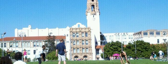 Mission Dolores Park is one of My San Francisco.