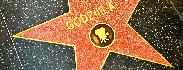 Godzilla's Star, Hollywood Walk of Fame is one of Los angeles.
