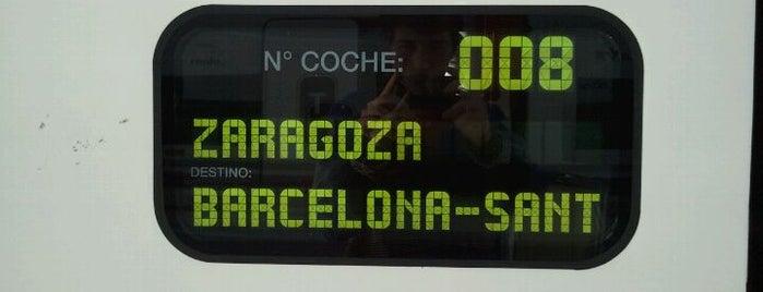 Estación de Málaga-María Zambrano is one of 101 cosas en la Costa del Sol antes de morir.