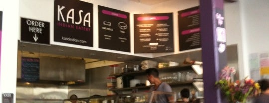 Kasa Indian Eatery is one of SF: Grub Under $10.