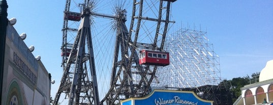 Wiener Riesenrad is one of Vienna City Badge - Blue Danube.