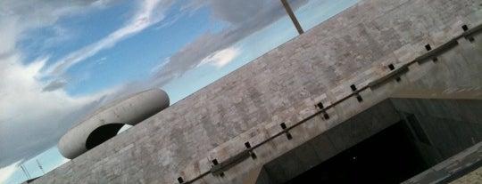 Memorial JK is one of Brasília.