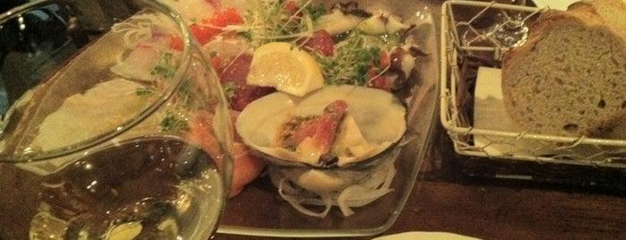 Italian BAR UOKIN is one of みんなだいすき魚金系.