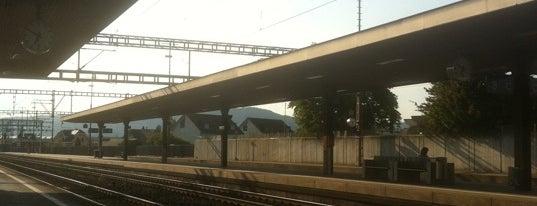 Bahnhof Lenzburg is one of Bahnhöfe Top 200 Schweiz.