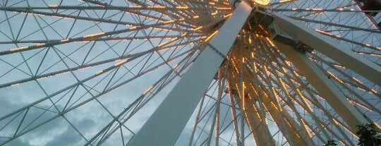 Ferris Wheel at Navy Pier is one of Chicago.