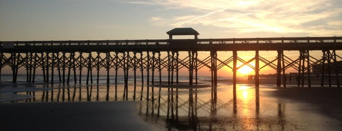 Folly Beach is one of Favorites in Charleston.