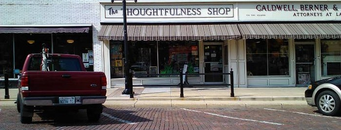 The Thoughtfulness Shop is one of Experience the Square.