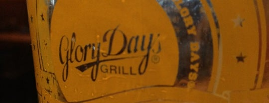 Glory Days Grill is one of Local Redskins Rally Bars.