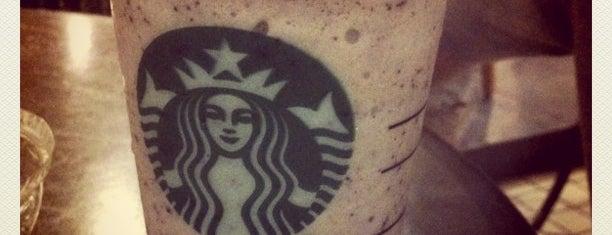 Starbucks is one of 10 favorite restaurants ;p.