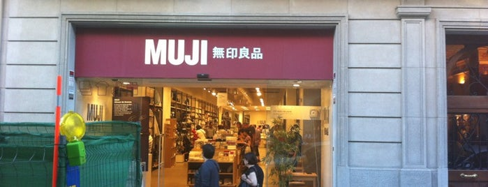 Muji is one of My favourite places.