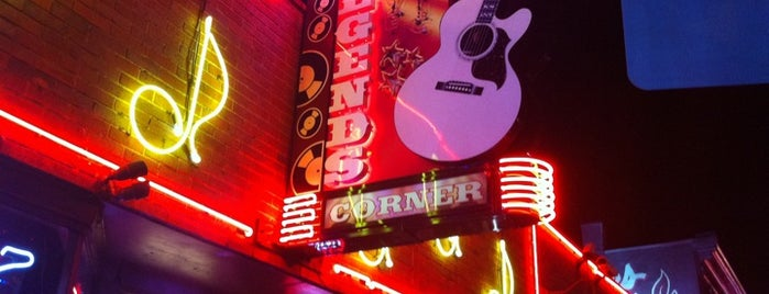 Legends Corner is one of Top Nashville Music Venues.