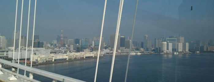 レインボーブリッジ (Rainbow Bridge) is one of #AIAcraft Conference in Japan + Tokyo 2012.