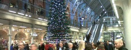 London St Pancras International Railway Station (STP) is one of My United Kingdom Trip'09.