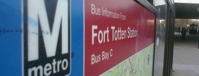 Ft. Totten Metro Station is one of WMATA Train Stations.
