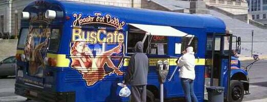 Hoosier Fat Daddy Bus Cafe is one of Food trucks! Yay!.