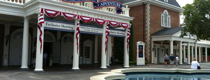 The American Adventure is one of Epcot World Showcase.