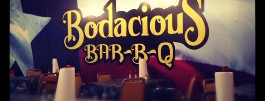 Bodacious Bar-B-Q is one of New restaurants to try.