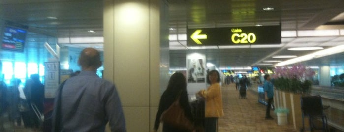 Gate C20 is one of SIN Airport Gates.