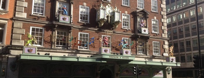Fortnum & Mason is one of London's Mayfair.
