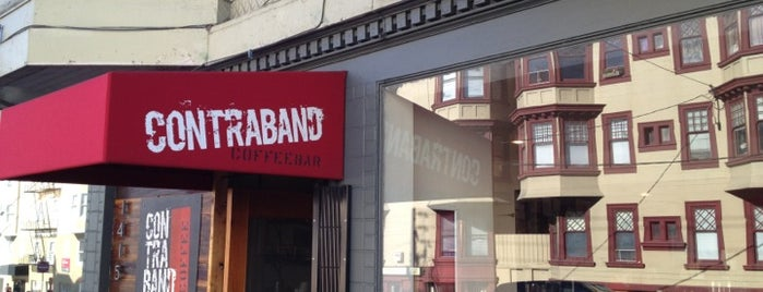 Contraband Coffeebar is one of San Fran.