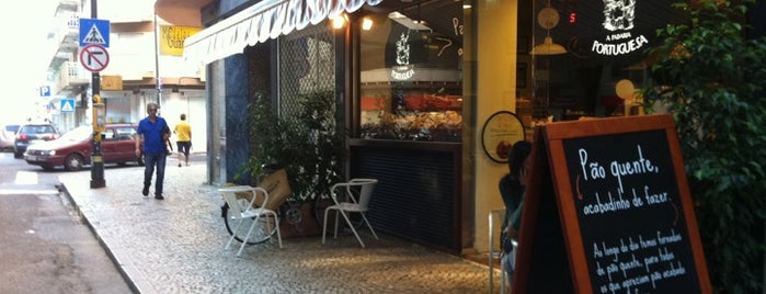A Padaria Portuguesa is one of Coffee places in Lisbon.